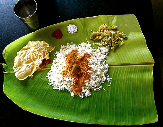 Image result for banana leaf plate